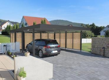 Garagen ESB - CARPORT MIT GERÄTERAUM
